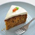 une part de carrot cake