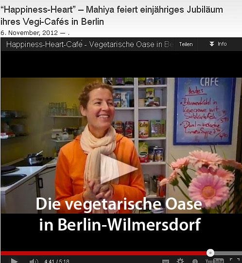 Das Happiness-Heart-Café in Berlin-Wilmersdorf feierte Geburtstag