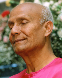 Sri Chinmoy in Meditation